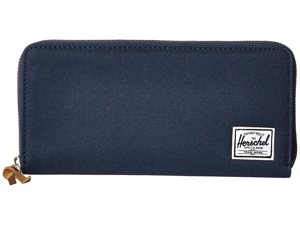 Herschel Supply Co. - Avenue (Navy 2) Wallet Handbags