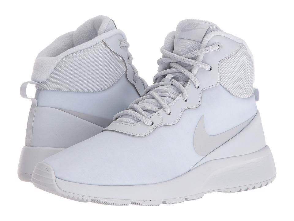 Nike - Tanjun High Winter (Metallic Summit White/Metallic Platinum/Pure Platinum) Women's Shoes