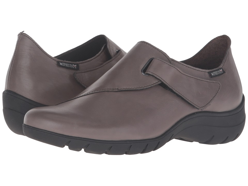 Mephisto - Luce (Dark Grey Silk) Women's Shoes