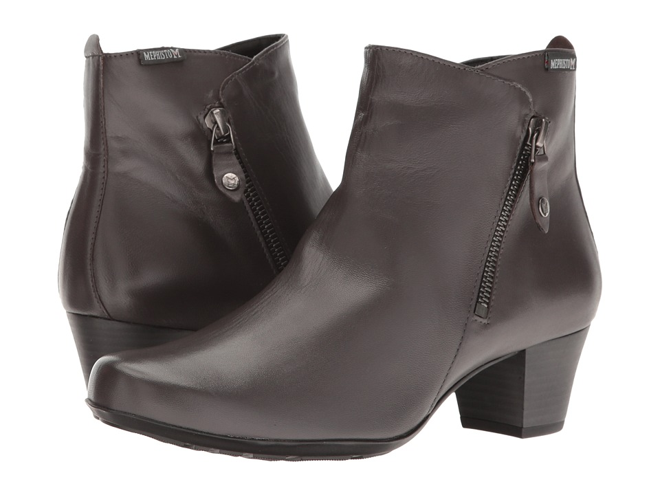 Mephisto Melodia (Dark Grey Nappa) Women