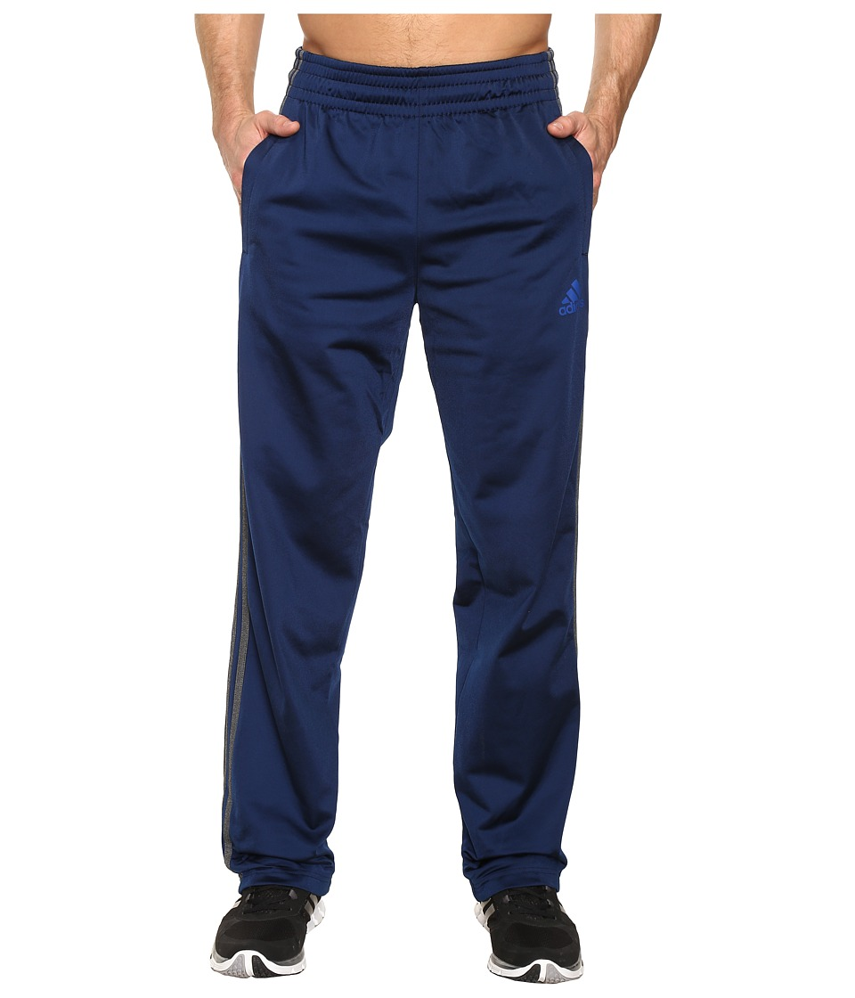 adidas - 3-Stripe Pants (Collegiate Navy/Dark Grey Heather) Men's Casual Pants