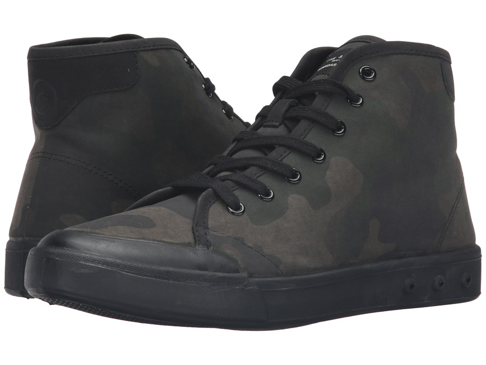 rag & bone - Standard Issue High Top (Green Camo) Men's Shoes