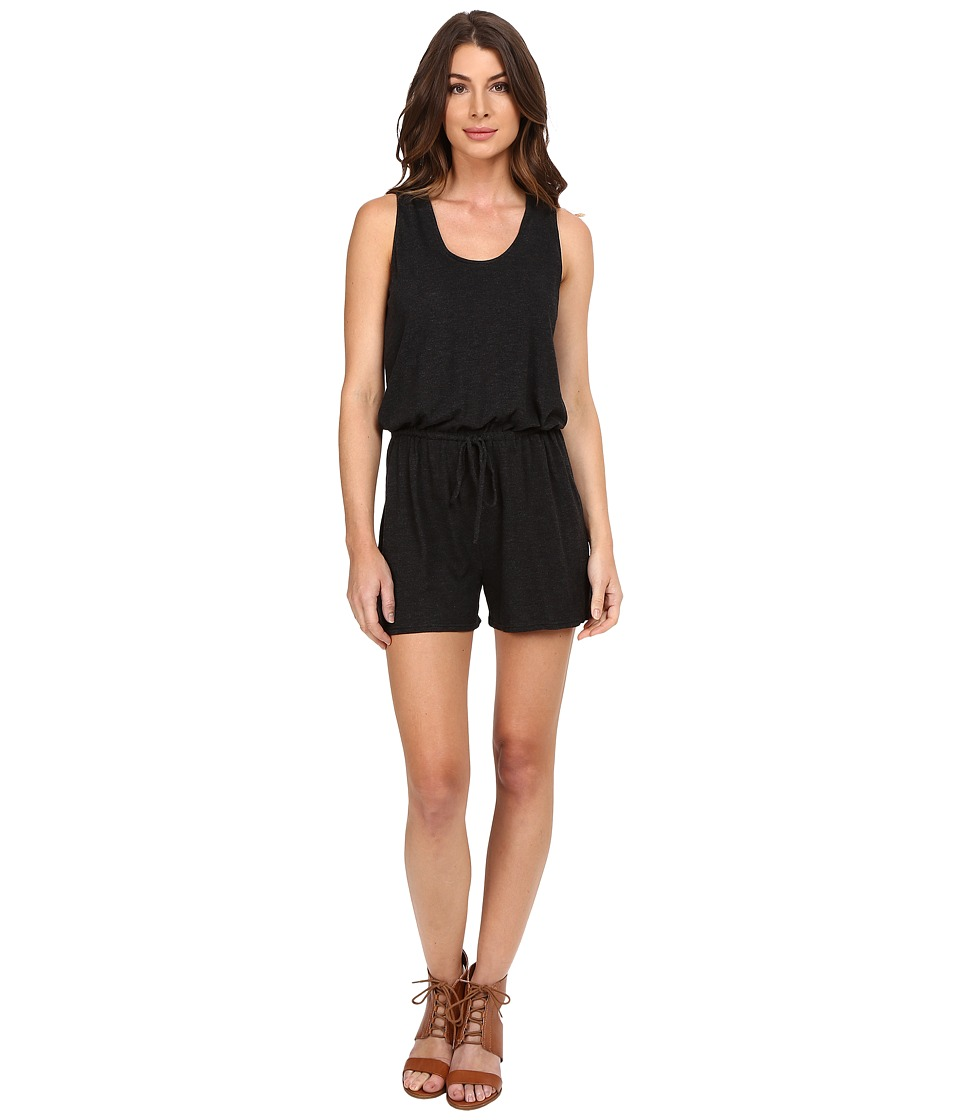 Lanston - Romper (Black) Women's Jumpsuit & Rompers One Piece