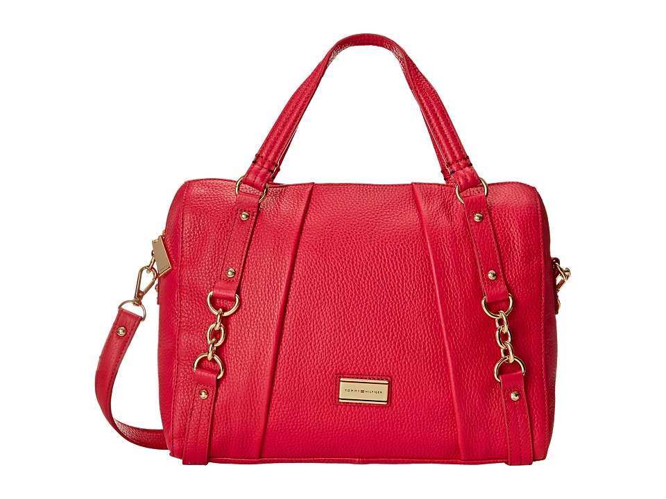 Tommy Hilfiger - Lily-Convertible Bowler (Raspberry) Handbags