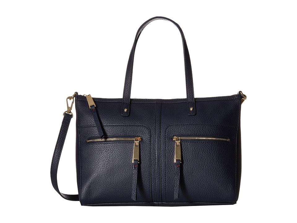 Tommy Hilfiger - Tgroup Zip - Convertible Satchel (Tommy Navy) Satchel Handbags