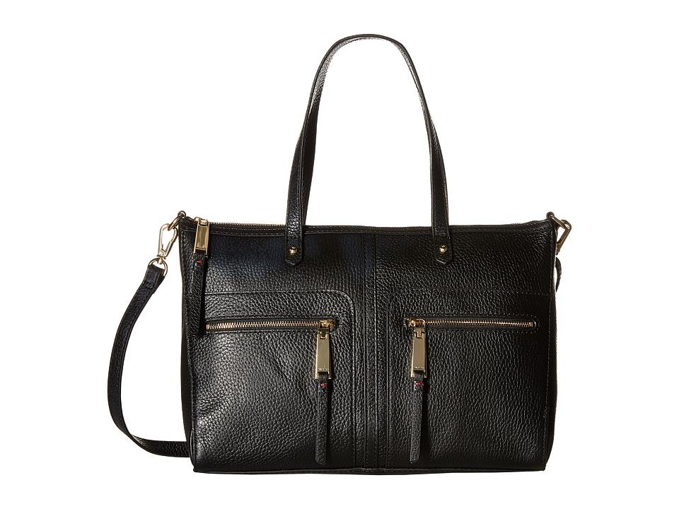 Tommy Hilfiger - Tgroup Zip - Convertible Satchel (Black) Satchel Handbags