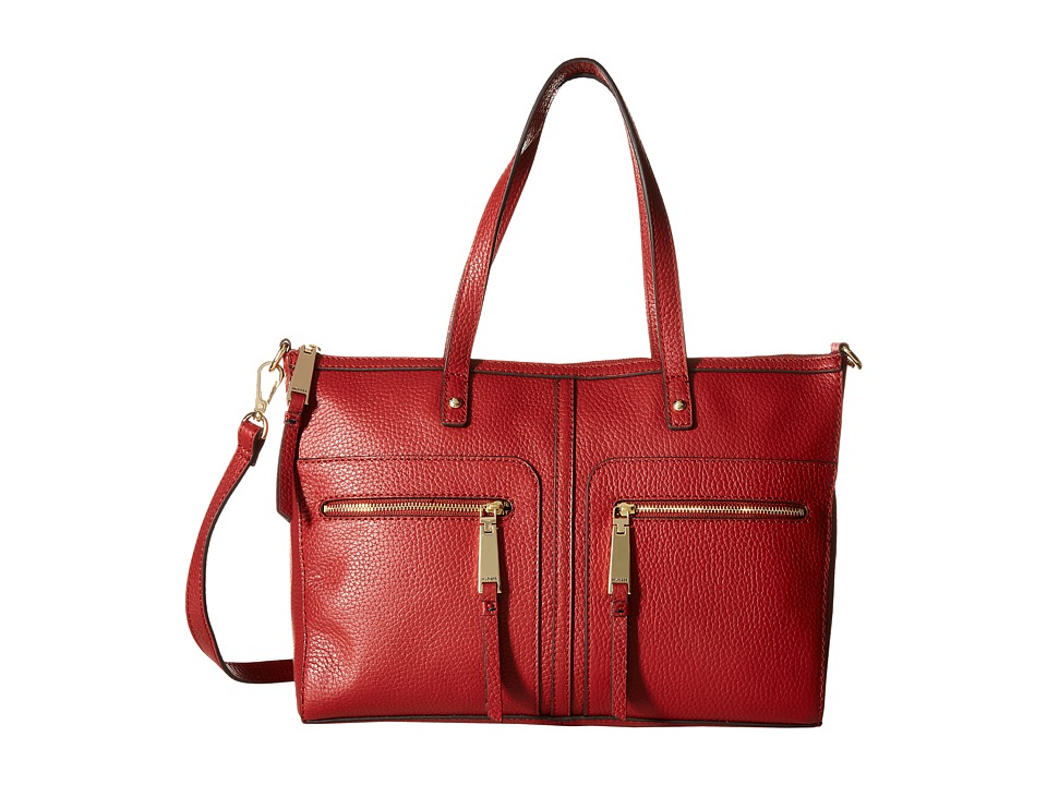 Tommy Hilfiger - Tgroup Zip - Convertible Satchel (Tommy Red) Satchel Handbags