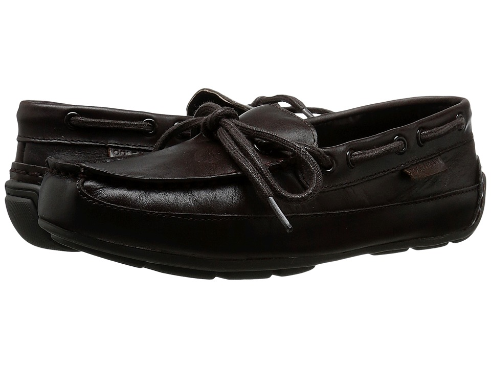 Cole Haan Kids - Grant Driver (Little Kid/Big Kid) (Chocolate) Boy's Shoes