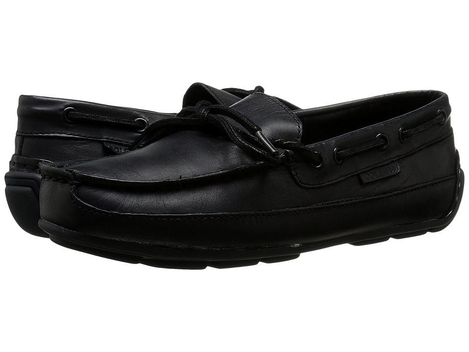 Cole Haan Kids - Grant Driver (Little Kid/Big Kid) (Black Tumbled) Boy's Shoes