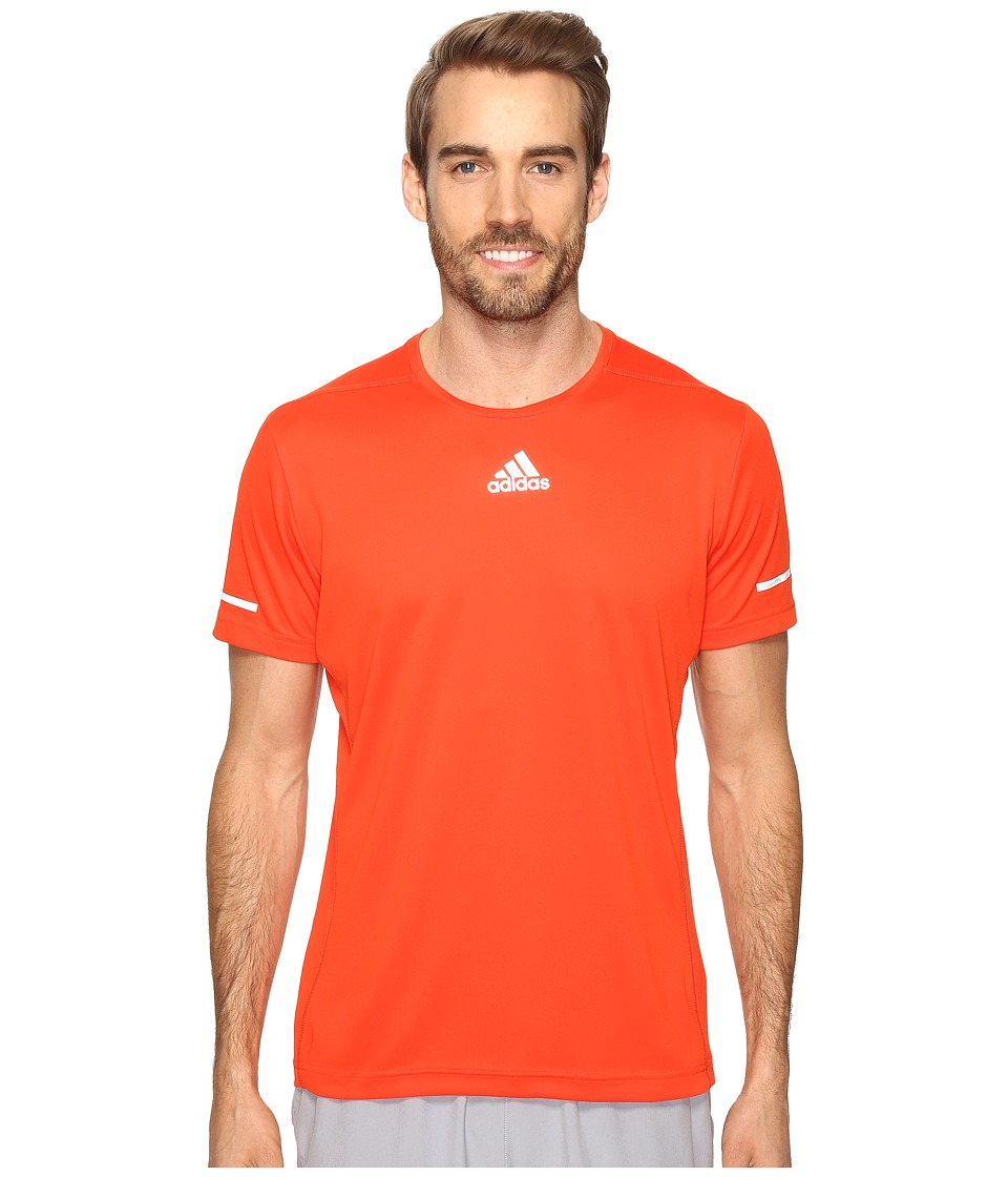 adidas - Sequencials Run T-Shirt (Bold Orange) Men's T Shirt