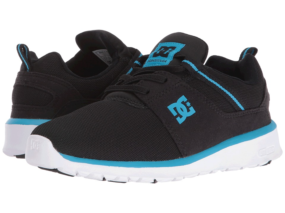 DC Kids - Heathrow (Big Kid) (Black/Blue/White) Boys Shoes