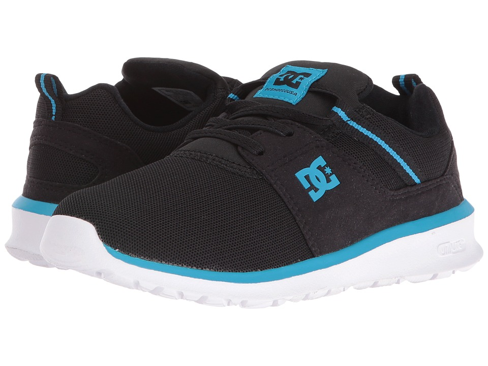DC Kids - Heathrow (Little Kid) (Black/Blue/White) Boys Shoes