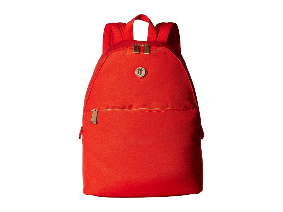Tommy Hilfiger - Back To School - Backpack (Fiery Red) Backpack Bags