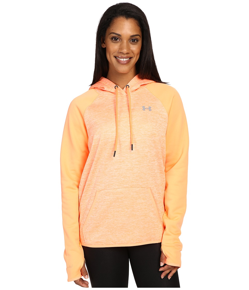 Under Armour - UA Storm Armour Fleece Icon Hoodie - Twist (Afterglow/Afterglow) Women's Sweatshirt