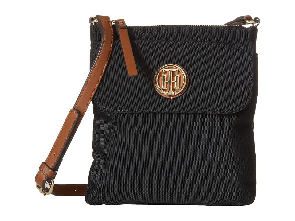 Tommy Hilfiger - Ivy - North/South Crossbody (Black) Cross Body Handbags