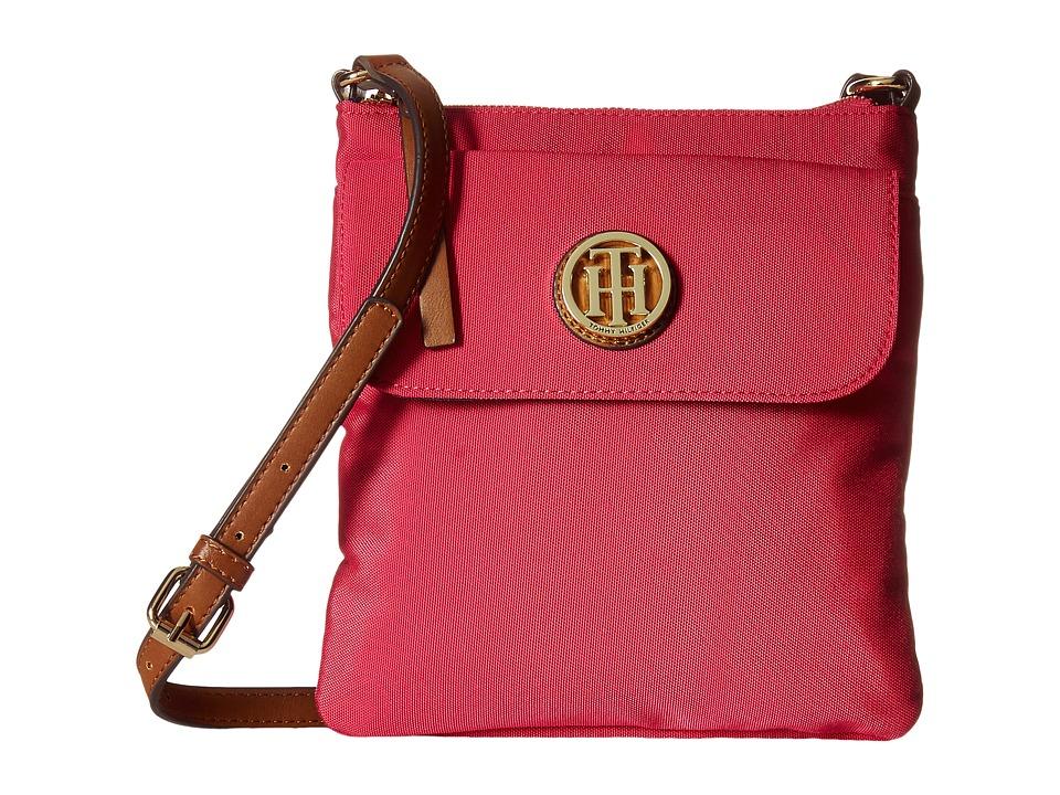 Tommy Hilfiger - Ivy - North/South Crossbody (Fuchsia) Cross Body Handbags