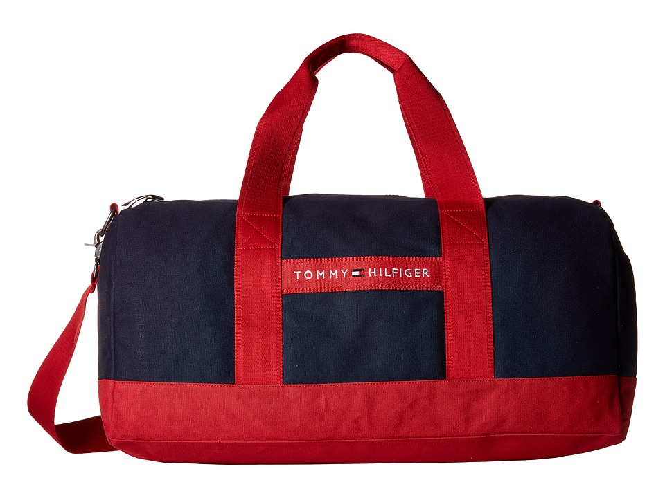 Tommy Hilfiger - TH Sport - Core Plus Medium Duffel (Red/Navy 1) Duffel Bags