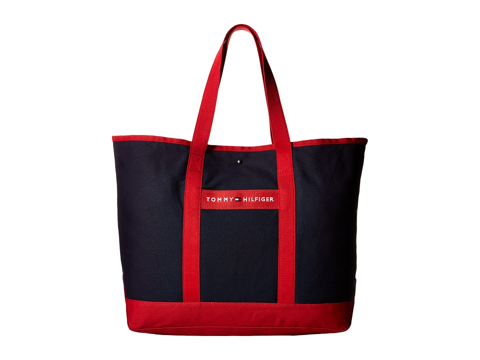 Tommy Hilfiger - TH Sport - Core Plus Tote (Red/Navy 1) Tote Handbags