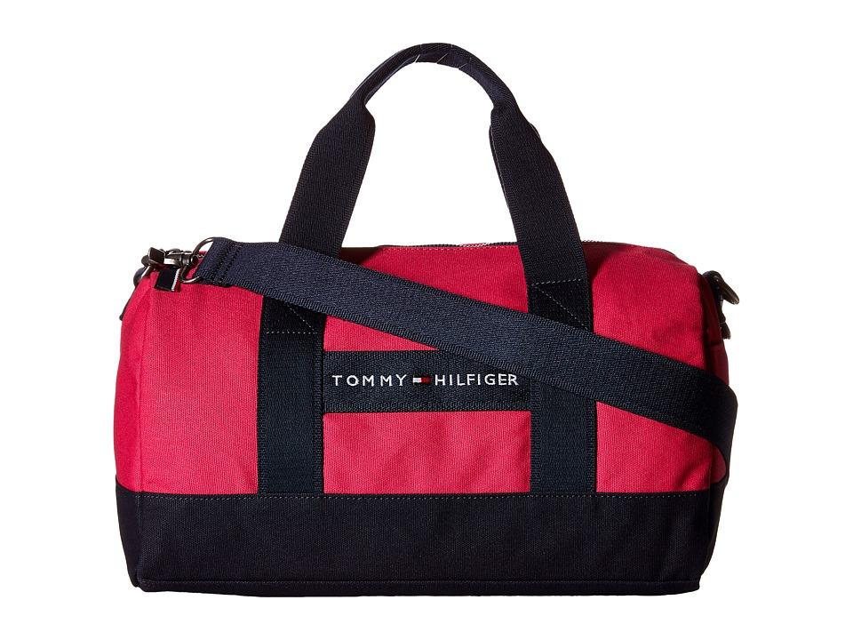 Tommy Hilfiger - TH Sport - Core Plus Mini Duffel (Fuchsia/Navy) Duffel Bags