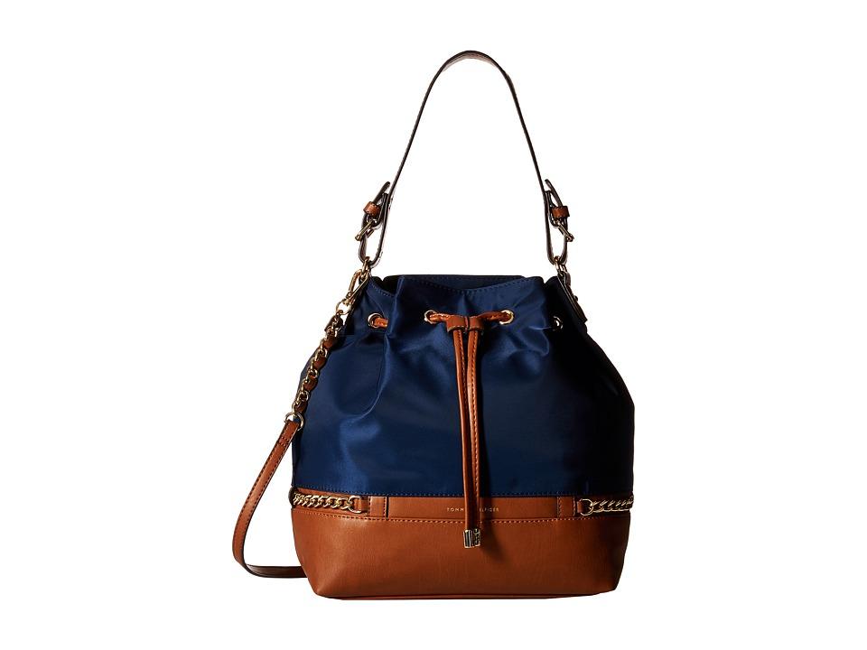 Tommy Hilfiger - Cassidy - Drawstring (Navy) Drawstring Handbags