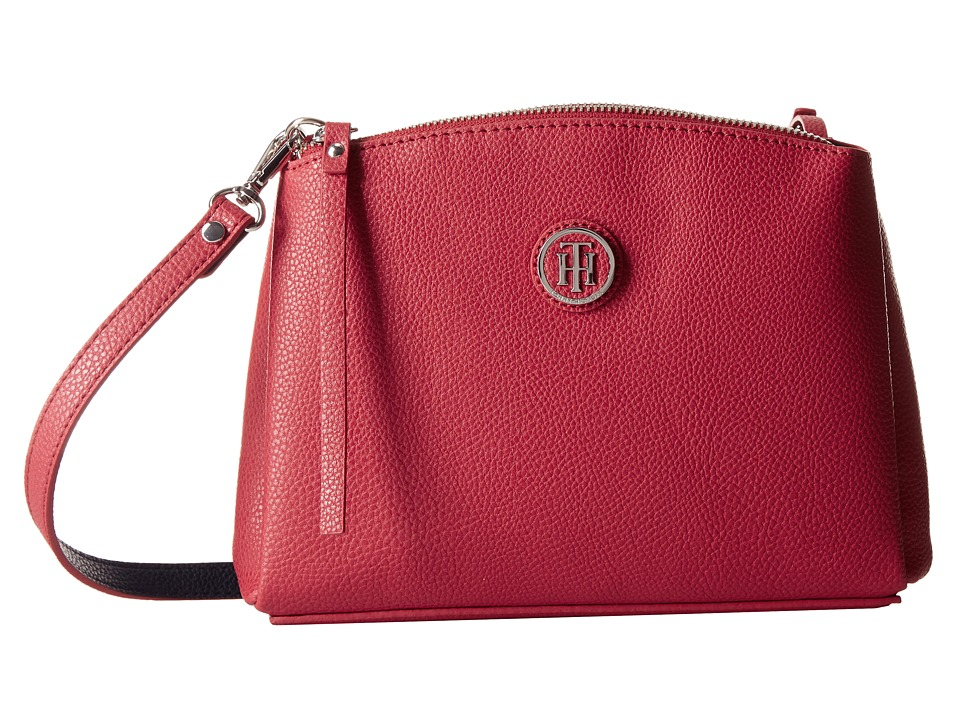 Tommy Hilfiger - Mara - East/West Crossbody (Red) Cross Body Handbags