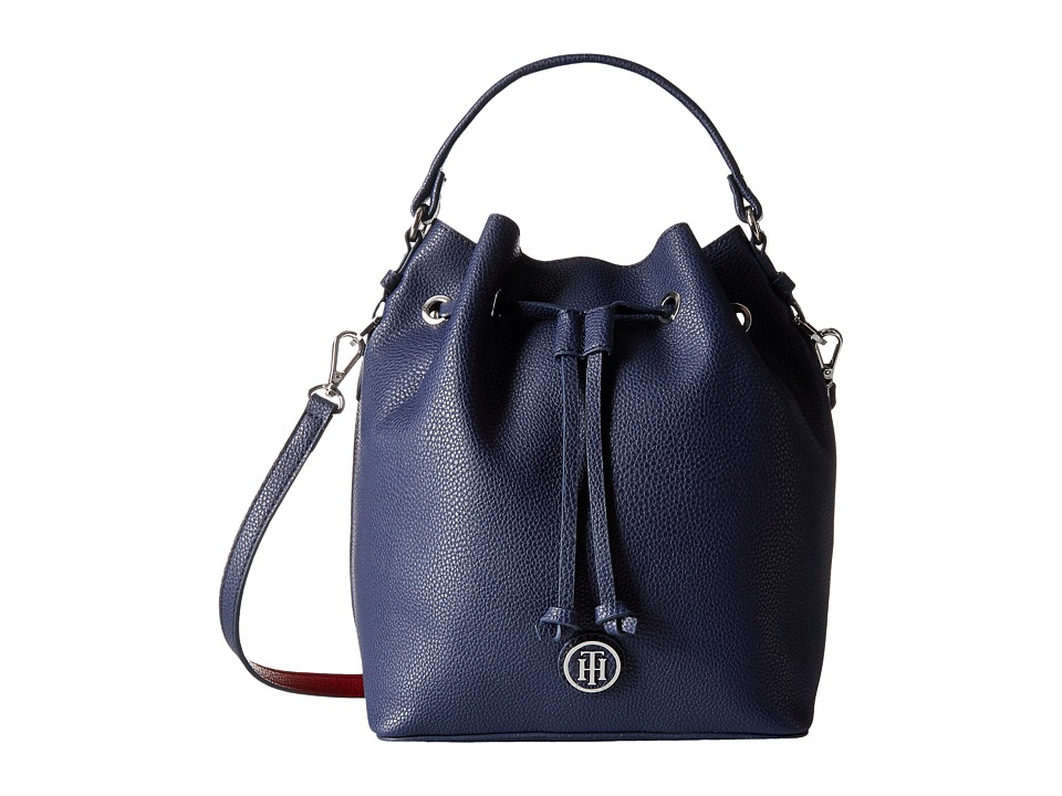 18bb4869d0d UPC 646130942140 product image for Tommy Hilfiger - Mara - Drawstring Bucket  (Navy/Red ...
