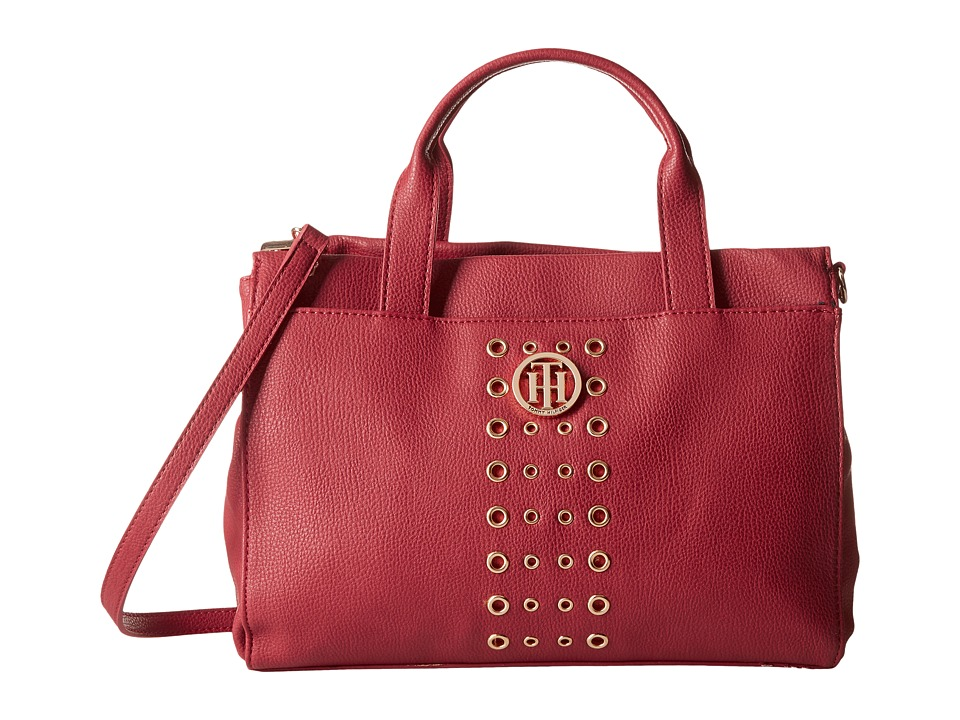Tommy Hilfiger - TH Eyelet - Shopper (Red) Handbags