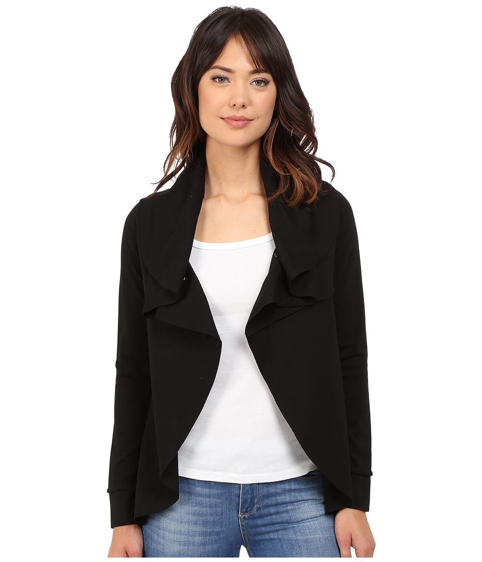 kensie - Ponte Jacket KS8K2075 (Black) Women's Coat