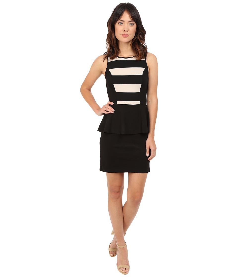 kensie - Ponte Dress KS8K9813 (Black Combo) Women's Dress
