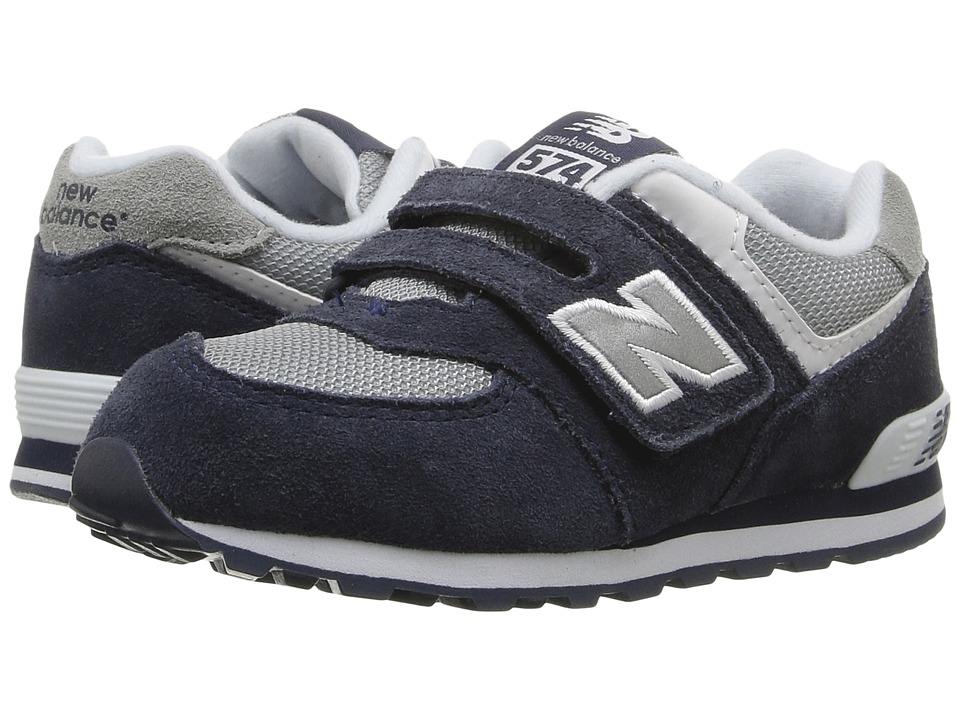 New Balance Kids KG574 (Infant/Toddler) (Navy) Kid