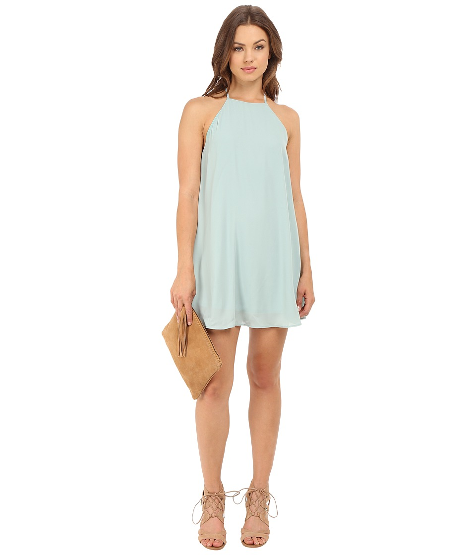 Show Me Your Mumu - Gomez Mini Dress (Sea Mist Crisp) Women's Dress