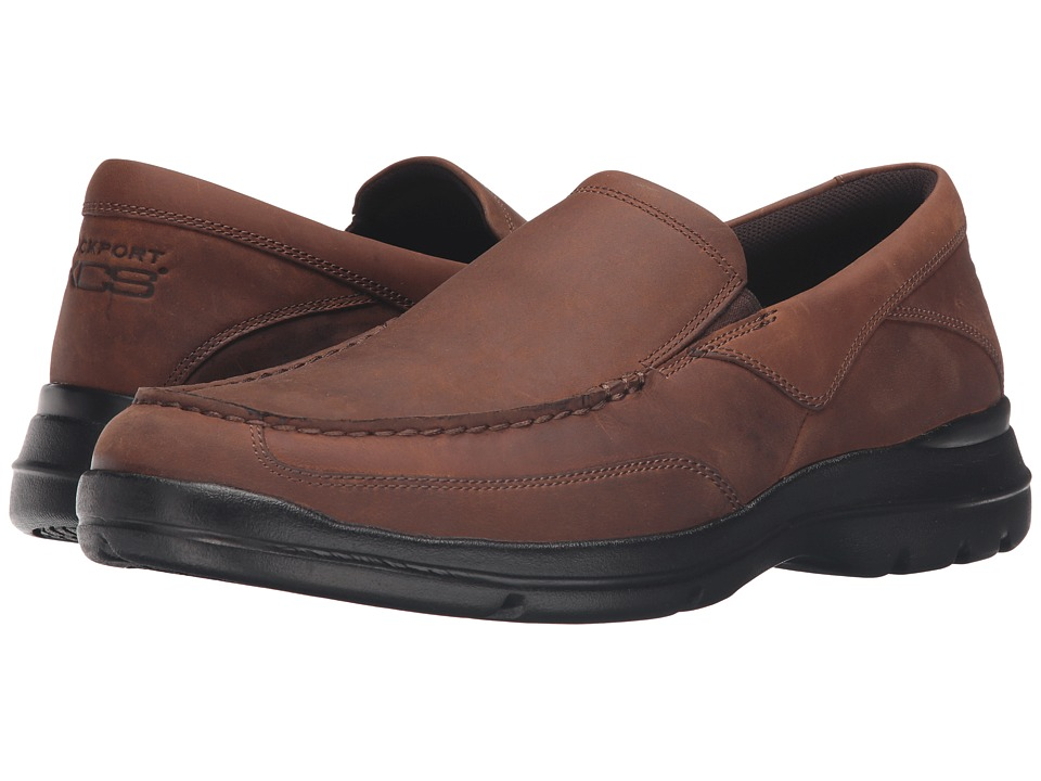 Rockport - City Play Two Slip-On (Tan) Men's Slip on Shoes