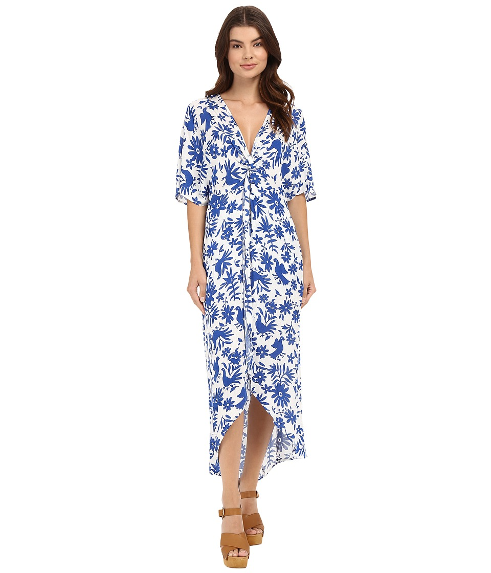 Show Me Your Mumu - Get Twisted Maxi Dress (Senorita Bluebird) Women's Dress