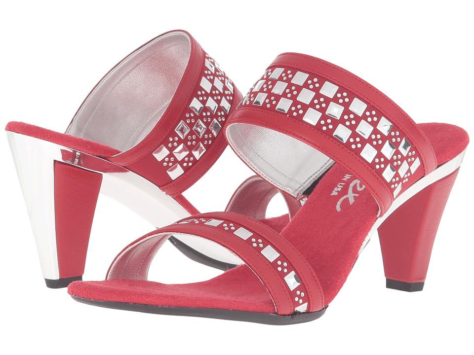 Onex - Chess (Red) High Heels