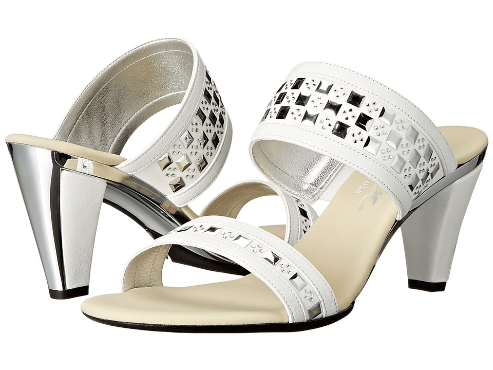 Onex - Chess (White) High Heels