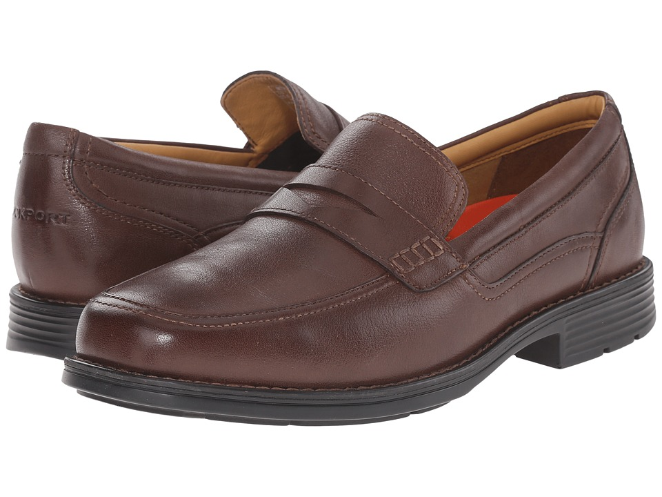 Rockport - Liberty Square Penny (Brown) Men's Shoes