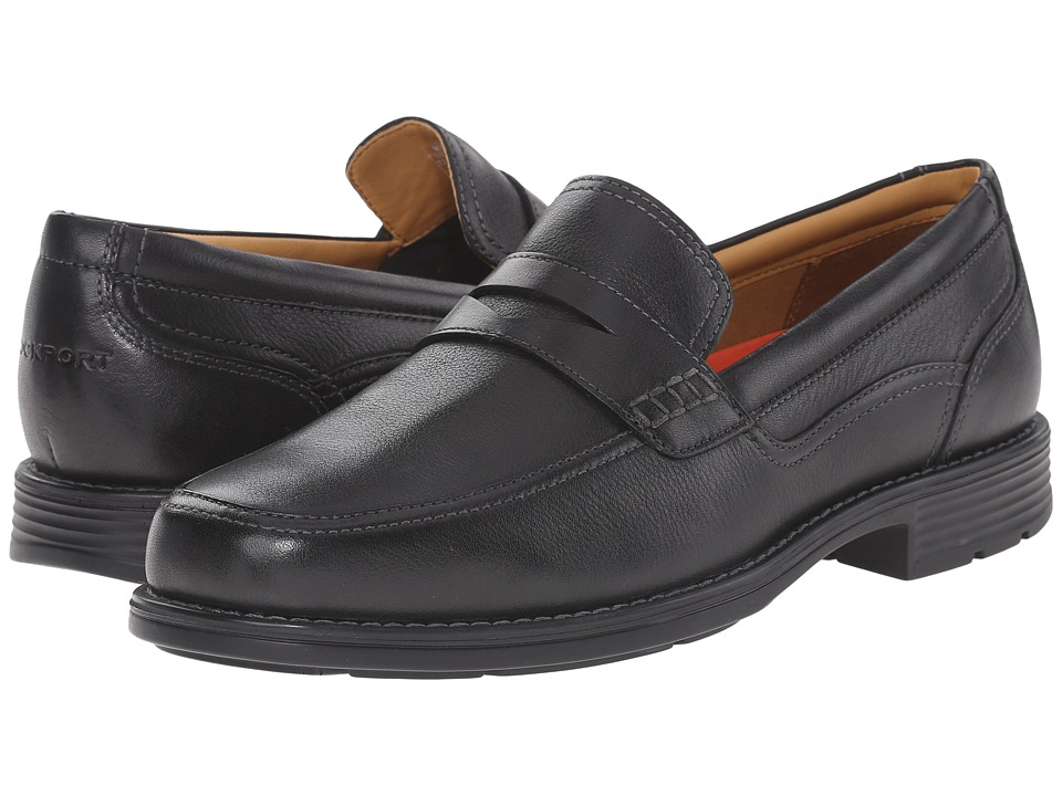 Rockport - Liberty Square Penny (Black) Men's Shoes