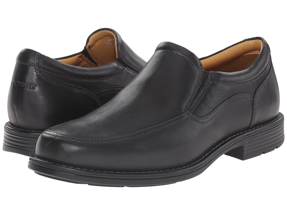 Rockport - Liberty Square Twin Gore Slip-On (Black) Men's Slip on Shoes