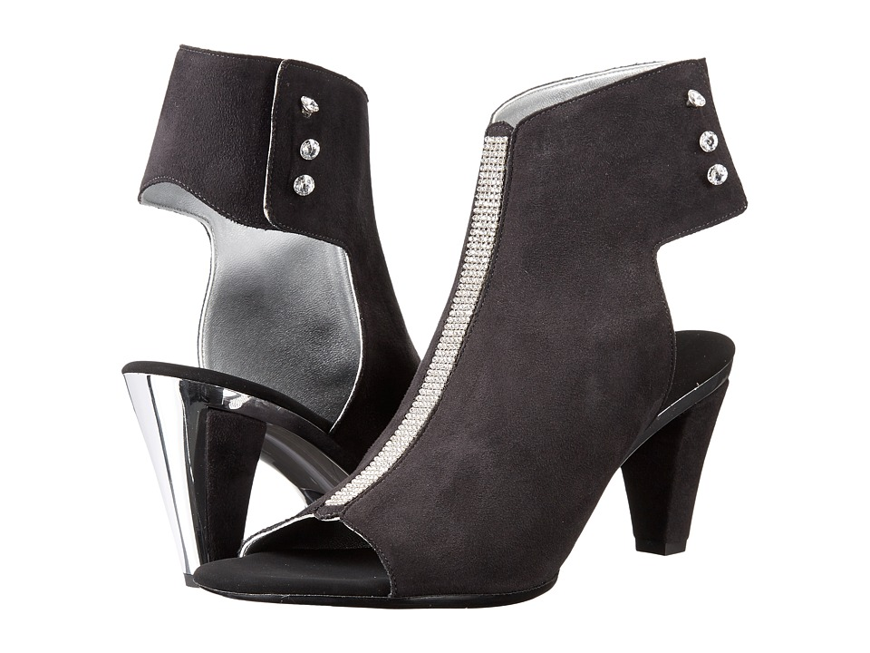 Onex - Tux (Black Suede) High Heels