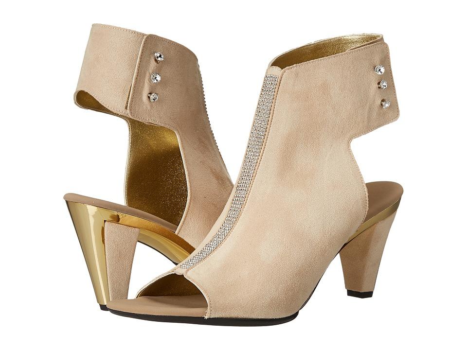 Onex - Tux (Beige Suede) High Heels