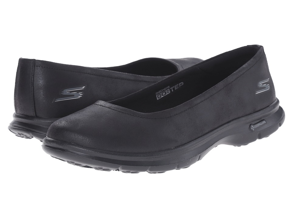 SKECHERS Performance - Go Step - Distinguished (Black) Women's Shoes