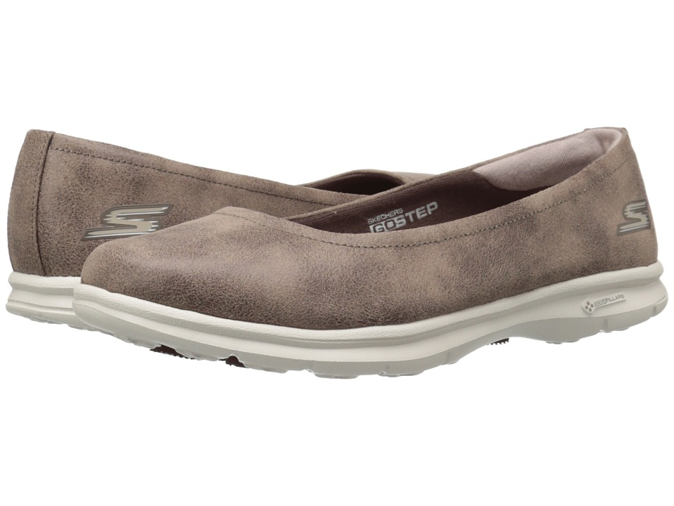 SKECHERS Performance - Go Step - Distinguished (Brown) Women's Shoes