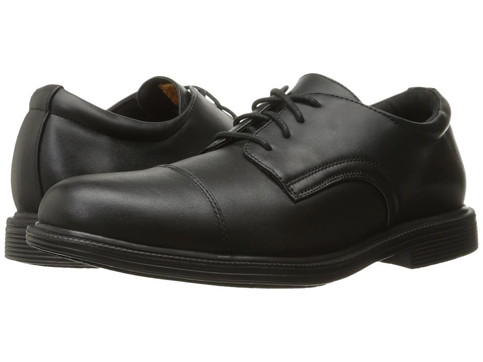 SKECHERS Work - Gretna - Gering (Black Leather) Men's Work Boots