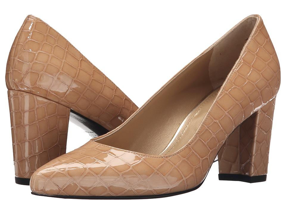 Stuart Weitzman Pinot Adobe Sioux Croco High Heels