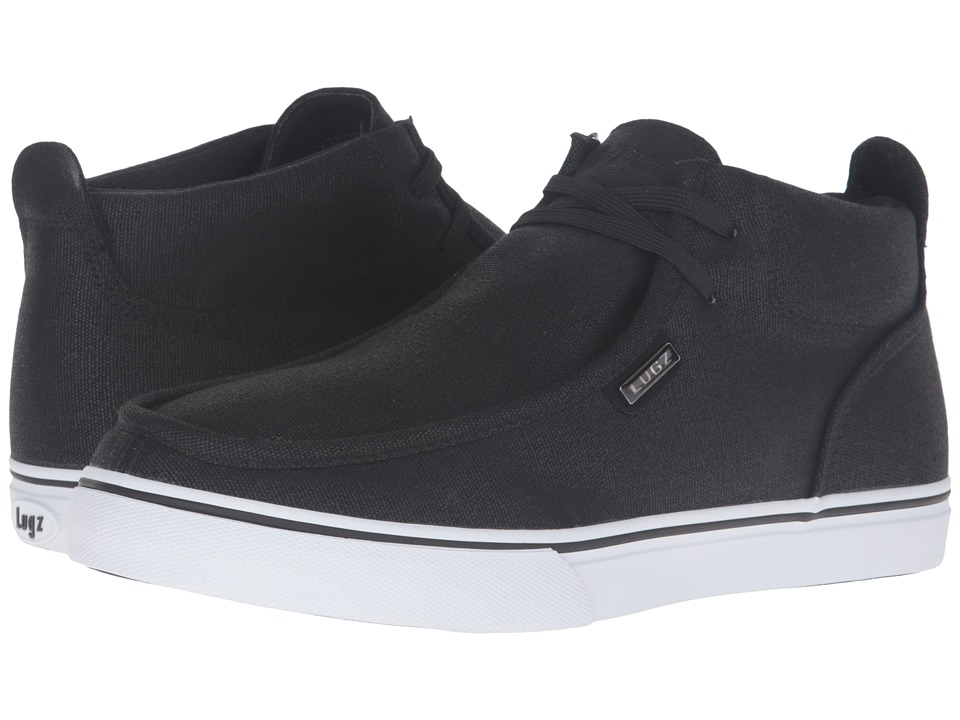 Lugz - Strider CC (Black/White) Men's Shoes