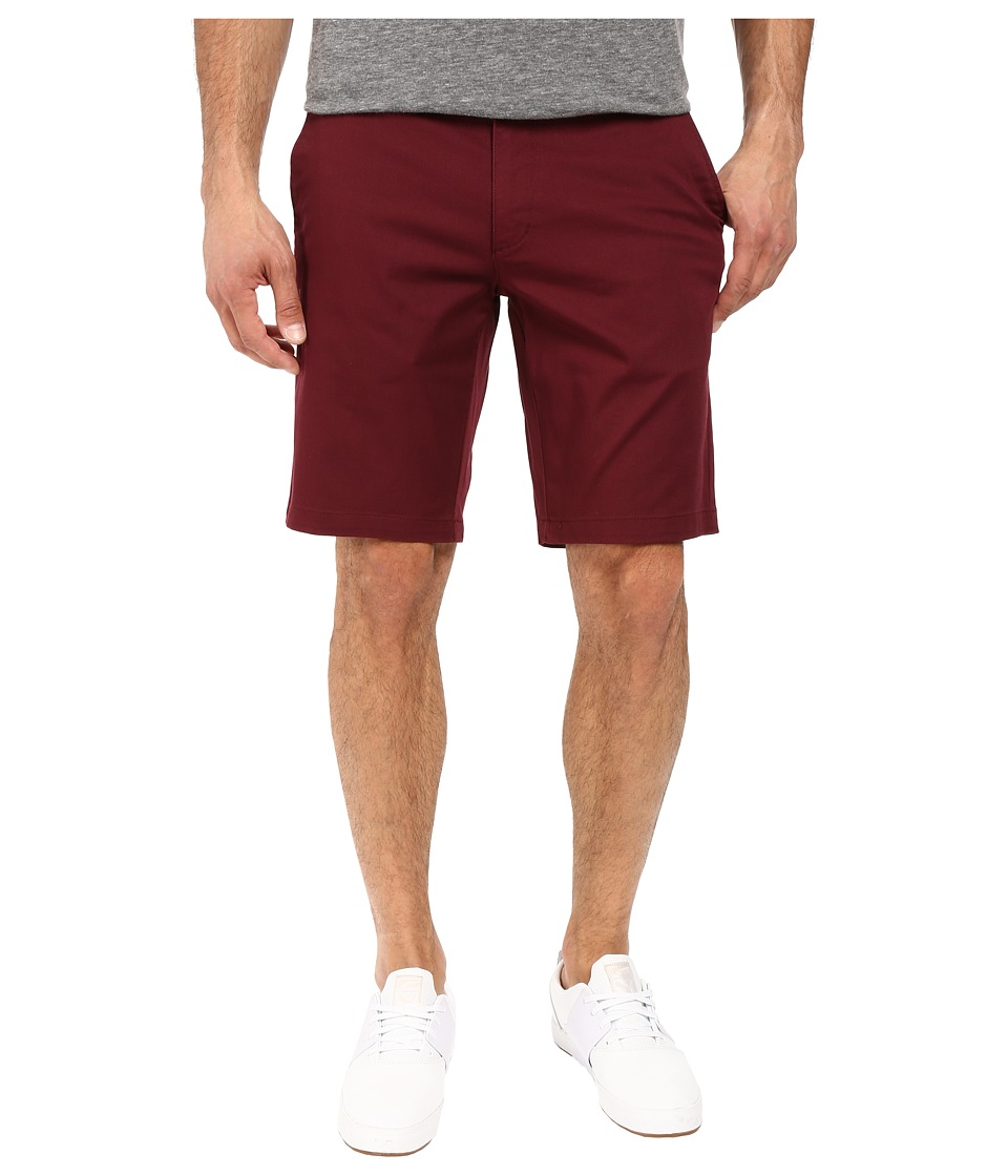 RVCA - The Week-End Stretch Shorts (Tawny Port) Men's Shorts