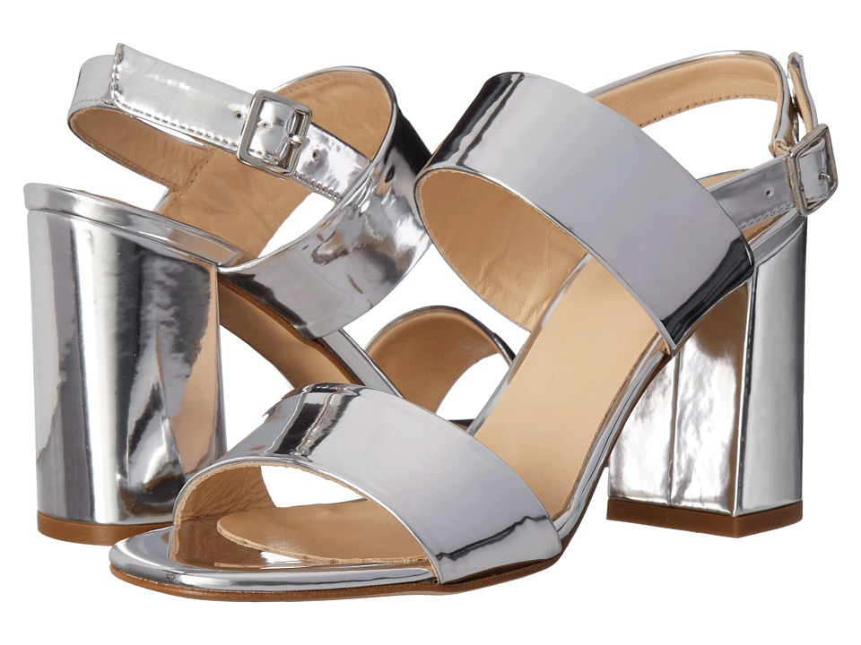 Summit by White Mountain Morna (Silver Metallic Leather) High Heels