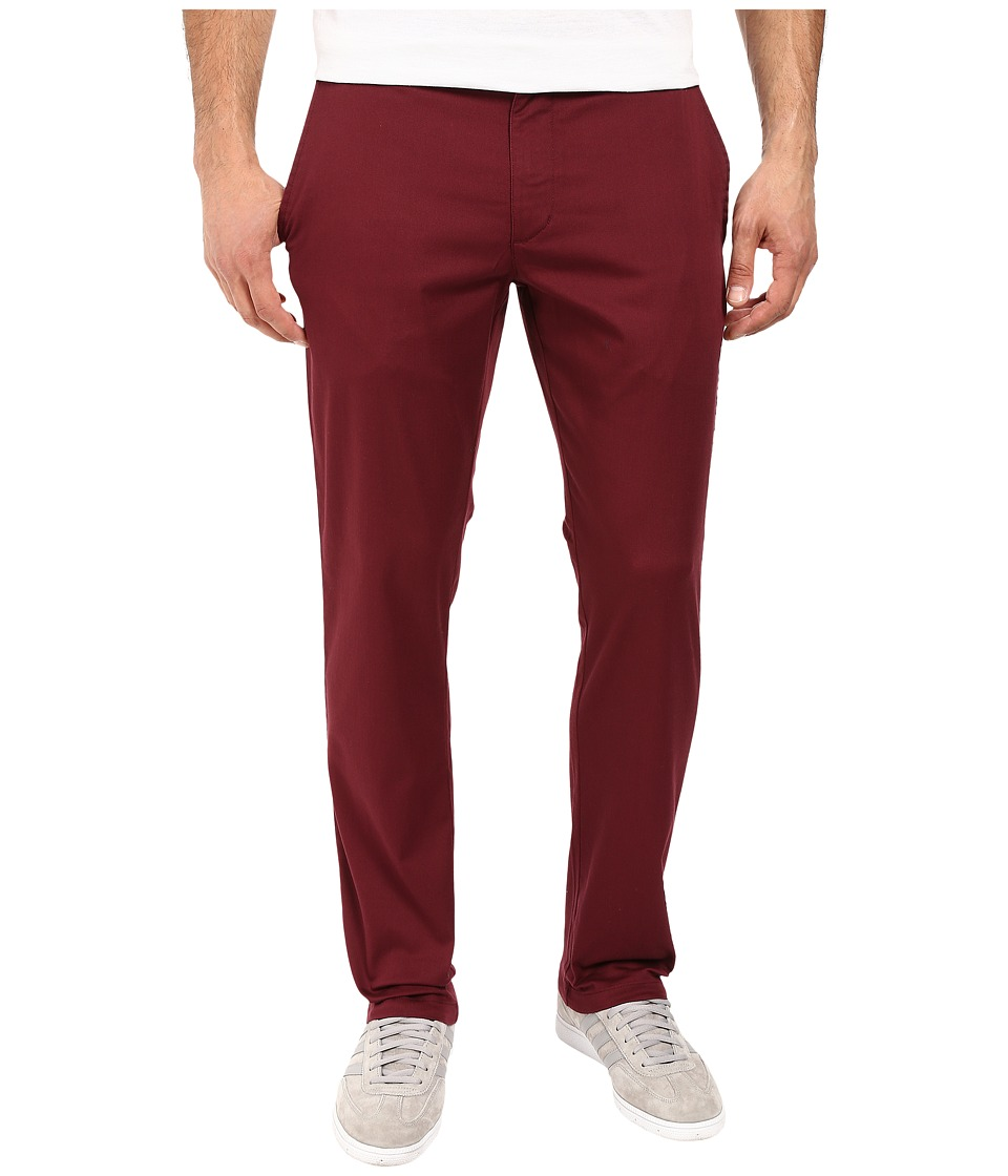 RVCA - The Week-End Stretch Pants (Tawny Port) Men's Casual Pants