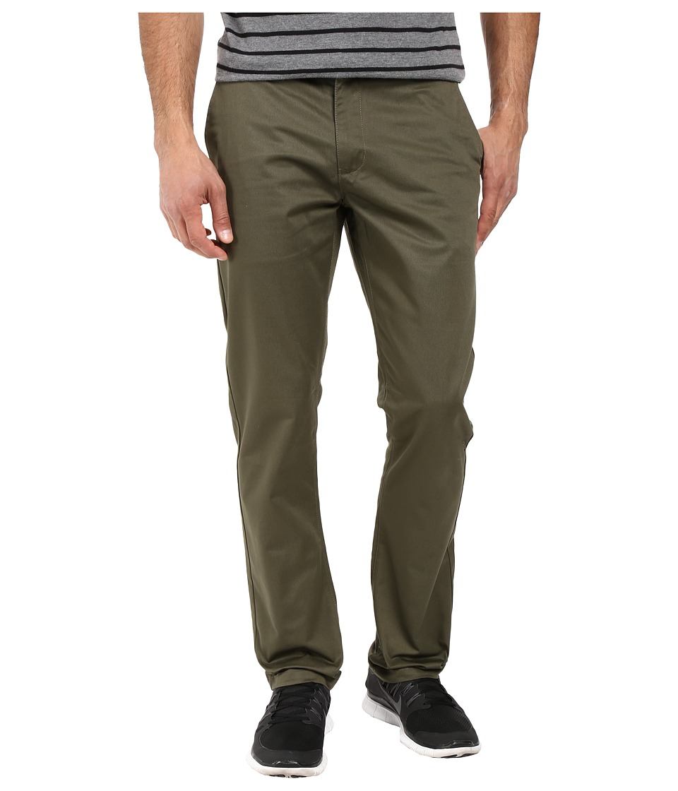 RVCA - The Week-End Pant (Leaf) Men's Casual Pants
