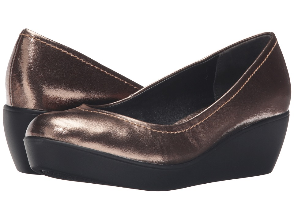 Steven - Fiori (Bronze Metallic) Women's Wedge Shoes